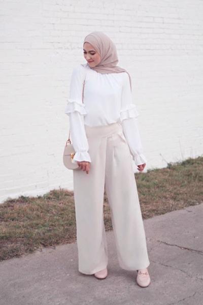 تسوقي منتجات الموضة المرفقة وتألقي بإطلالة مشابهة لإطلالة لينا أسعد