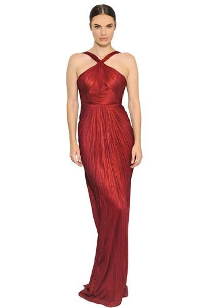 42f63fe5cfe46 تسوقي فساتين السهرة الحمراء المرفقة والتي اخترناها لك من أبرز دور الأزياء !