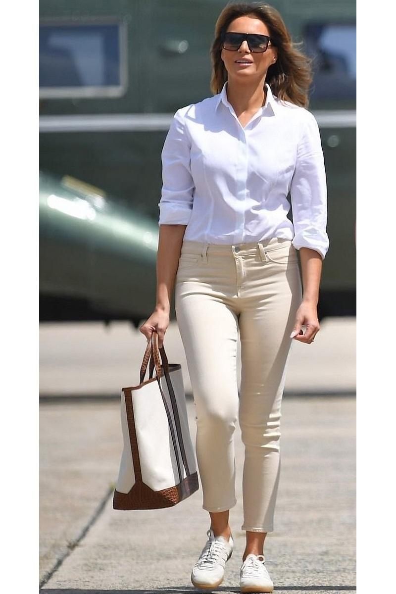 تسوقي منتجات الموضة المرفقة من أجمل تصاميم الأزياء والاكسسوارات لتحصلي على اطلالة ميلانيا ترامب