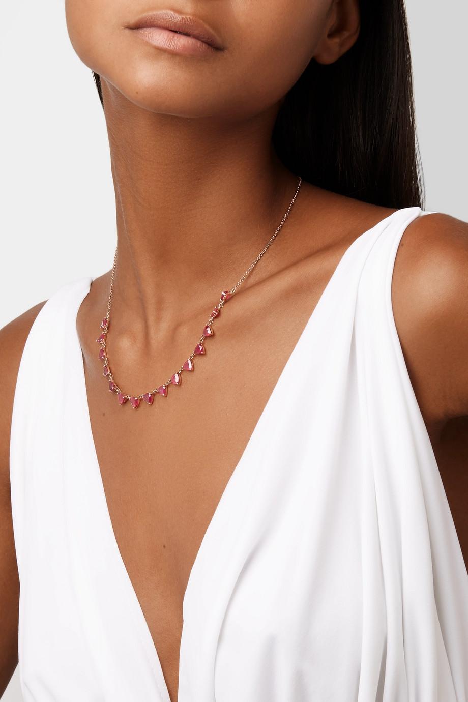 تسوقي مجوهرات الياقوت الأحمر المرفقة