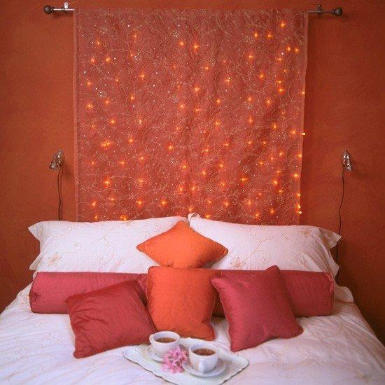غرف نوم رومنسية بلمسات أنثوية