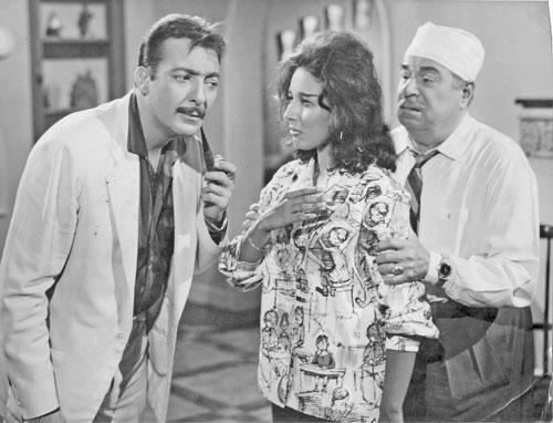 نتيجة بحث الصور عن لبنى عبد العزيز ورشدي أباظة