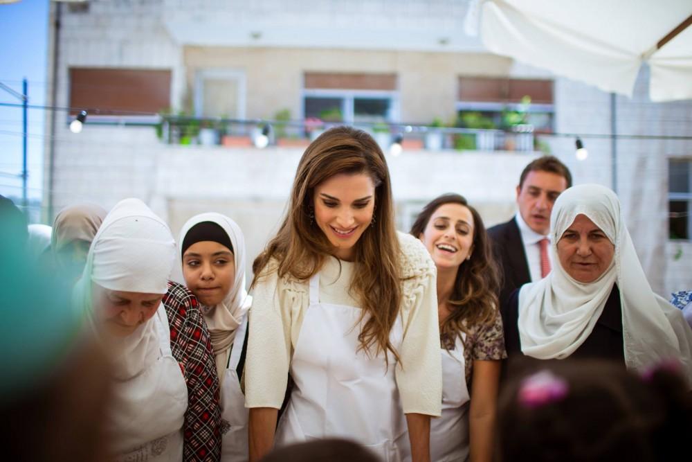 الملكة رانيا لن تطفئ الشموع في يوم ميلادها
