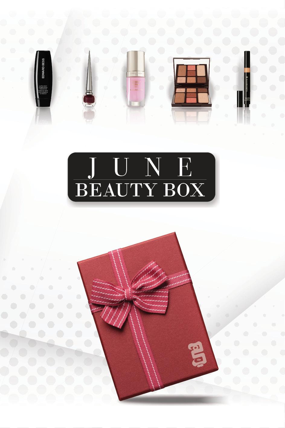 Beauty Box  شهر يونيو...أجدد المستحضرات الخاصة بعيد الفطر