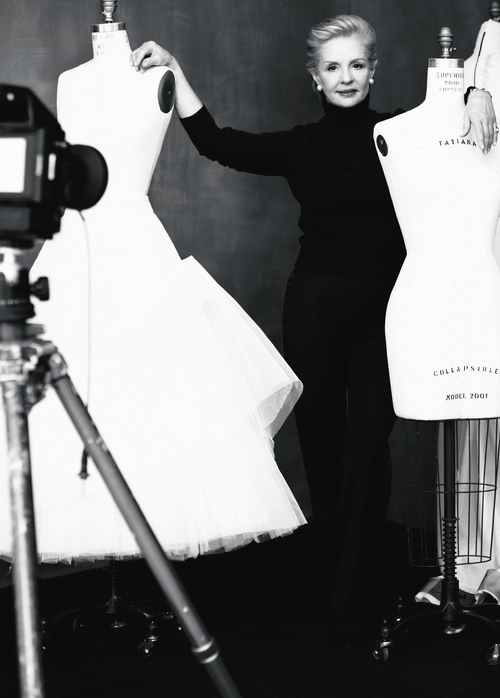 Carolina Herrera ورسالة أمل نحو سرطان الثدي