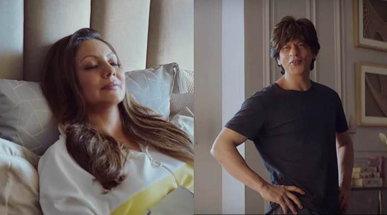 إعلان جديد يجمع بين شاروخان Shah Rukh Khan وزوجته غوري خان - مجلة هي
