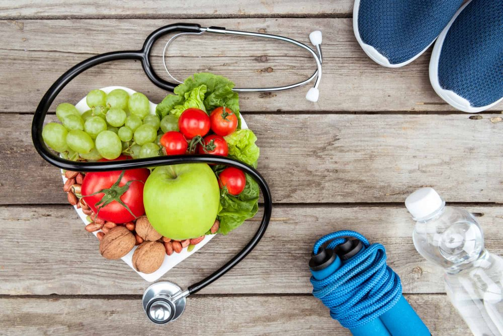 النظام الغذائي والحياتي الصحي يقي من النوبة القلبية