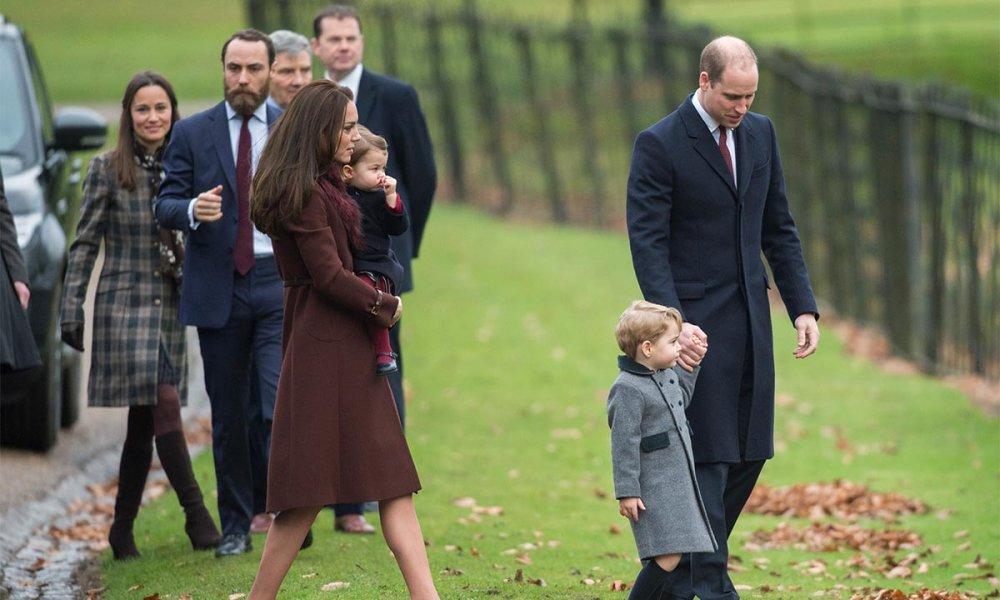 الأمير وليام وكيت ميدلتون قد يمضيان العطلة مع عائلة ميدلتون