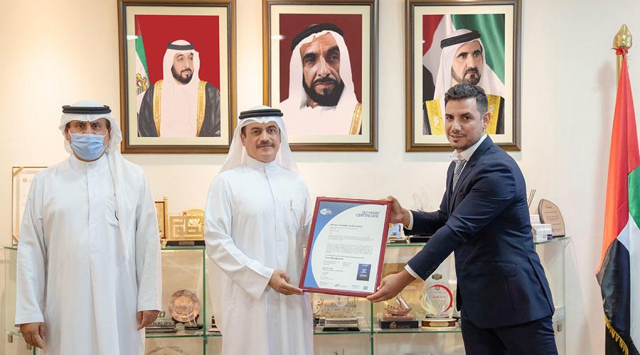 الصحة الإماراتية تنال شهادة الاعتماد العالمي في إدارة الأزمات