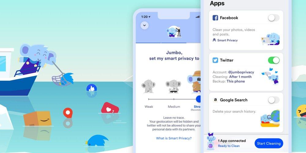 تطبيق Jumbo لحماية خصوصيتك على شبكات التواصل الإجتماعي - مجلة هي