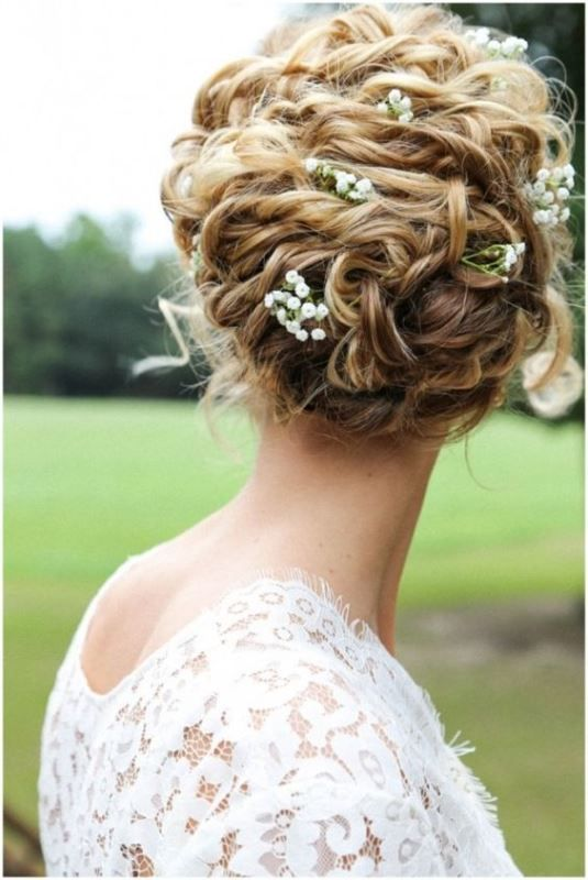 The 25 Best Curly Wedding Hairstyles Ideas On Pinterest