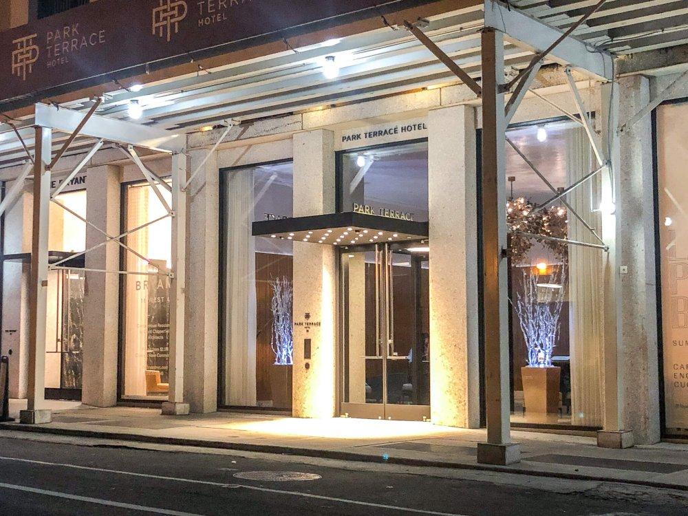 فندق بارك تراس هوتيل في بريانت بارك Park Terrace Hotel on Bryant Park