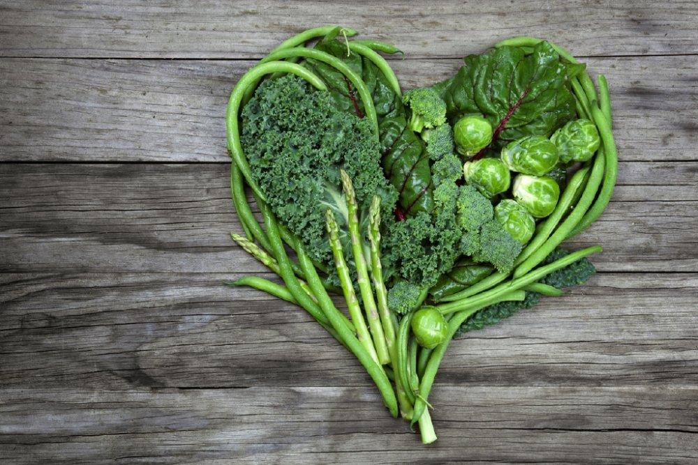الخضروات الورقية الداكنة تقي من فشل القلب