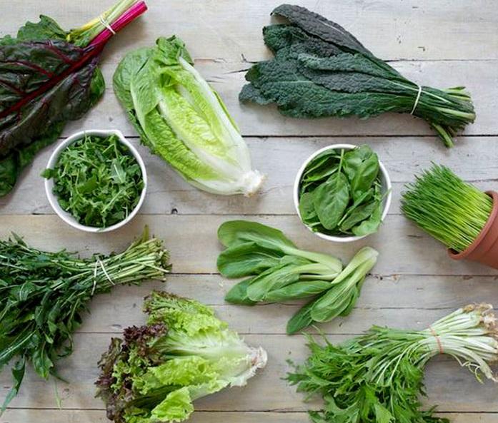الخضروات الورقية الداكنة مهمة لصحة القلب والشرايين