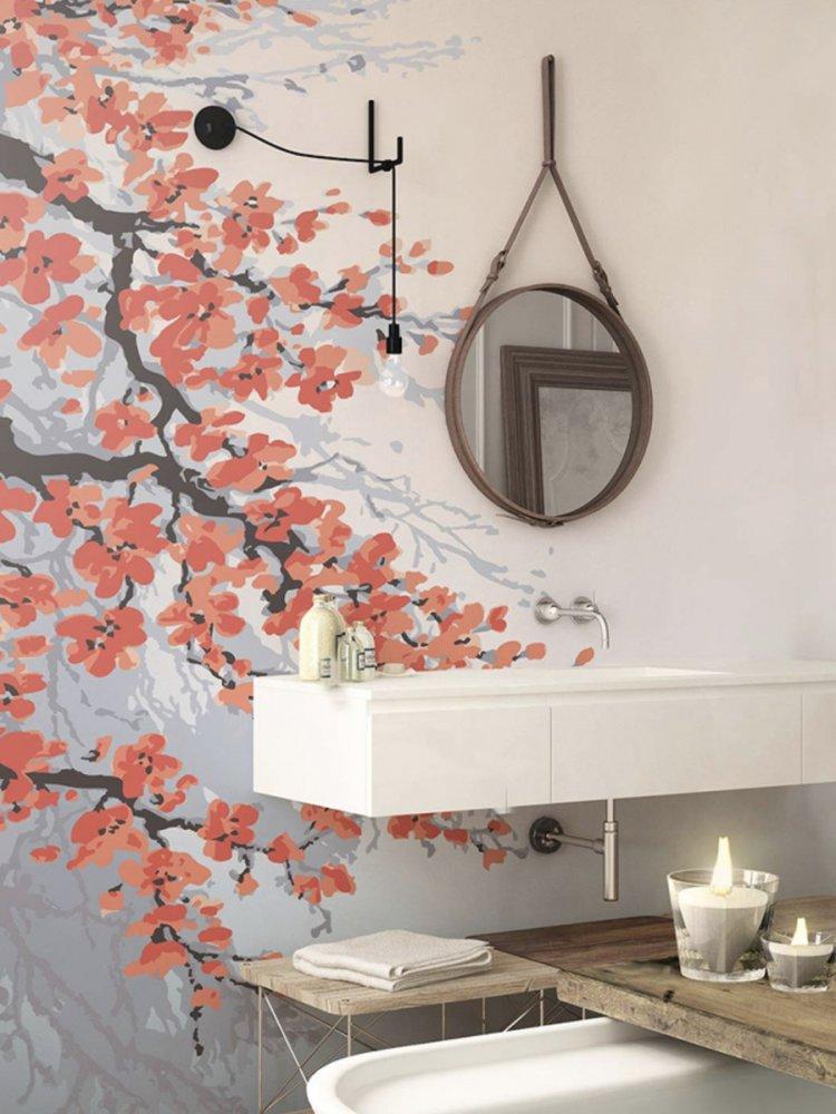 الرسم على جدران الحمام تعطيه مزيدا من الفخامة والتمييز