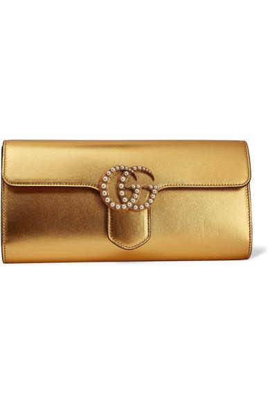 336dea145 شنط يد ذهبية وفضية لسهراتك الفاخرة - مجلة هي