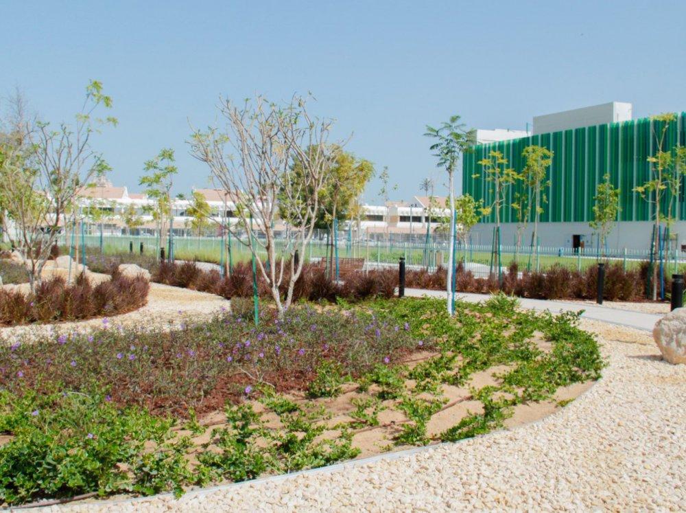 بلدية أبوظبي تنجز حديقة الشيخة فاطمة