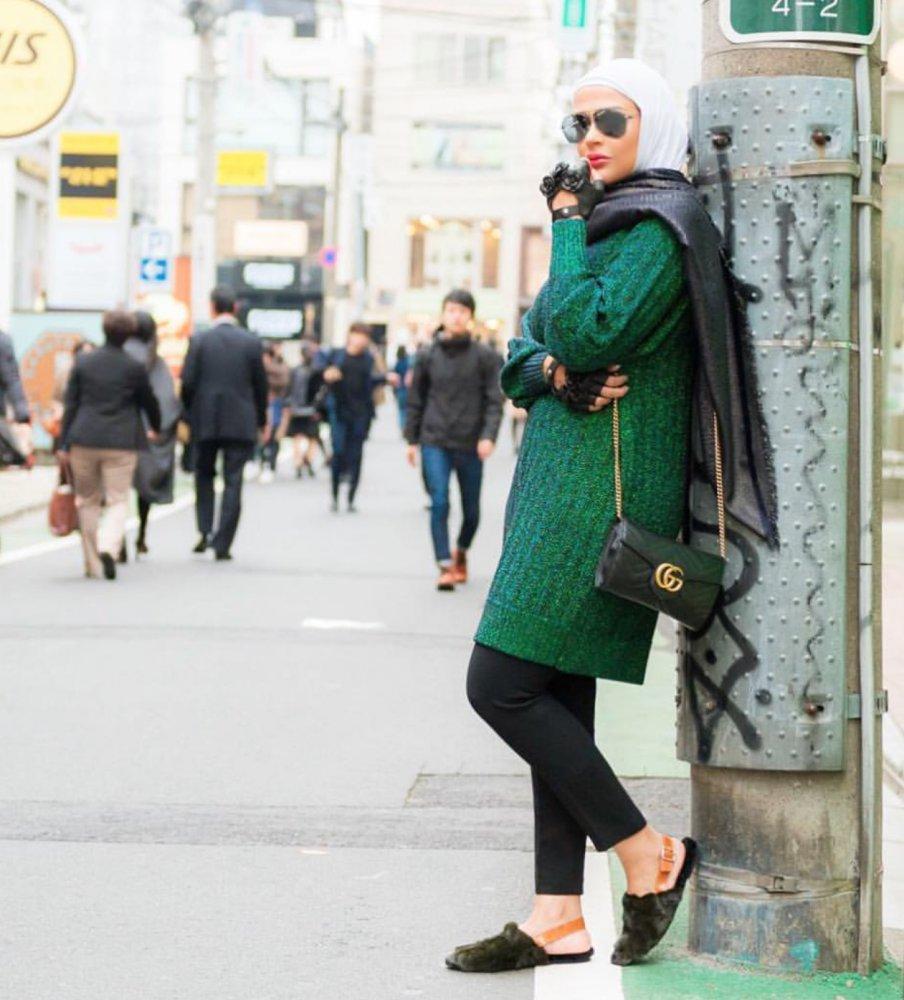 55e55fa39184f ملابس محجبات شتوية للسفر - مجلة هي