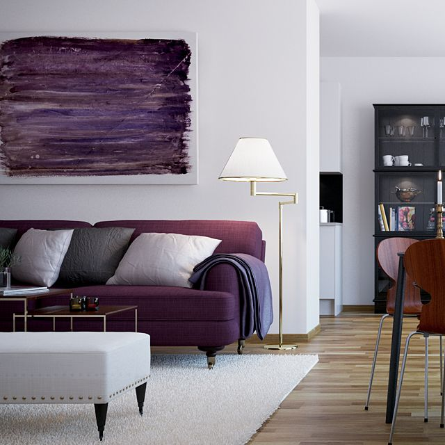The 25 Best Purple Living Rooms Ideas On Pinterest