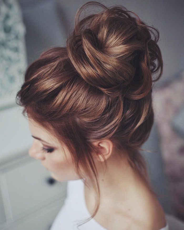 Best 25 Wedding Hair Buns Ideas On Pinterest
