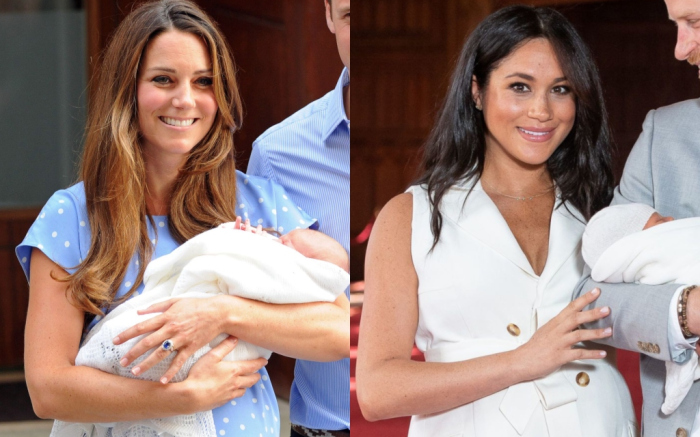 b765de613aa55 Meghan Markle After Birth & Kate Middleton: Postpartum Outfit Styles ...