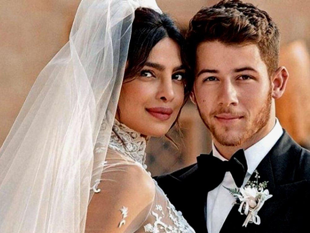 825bb68ae طرحة زفاف بريانكا شوبرا بطول 23 متر - مجلة هي