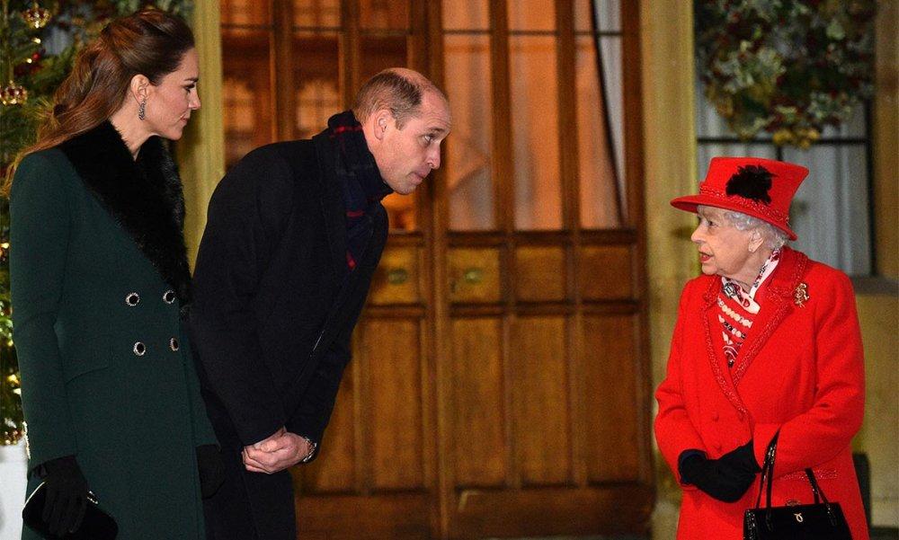 ملكة بريطانيا تستقبل وليام وكيت في وندسور