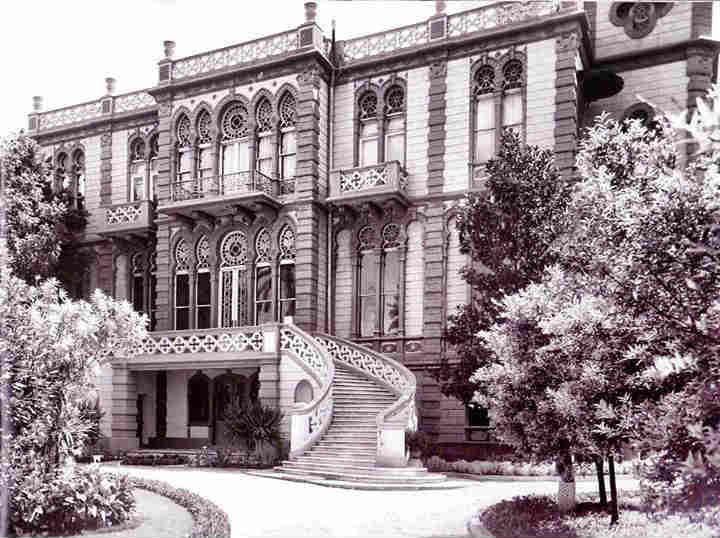 صورة تاريخية من متحف سرسق