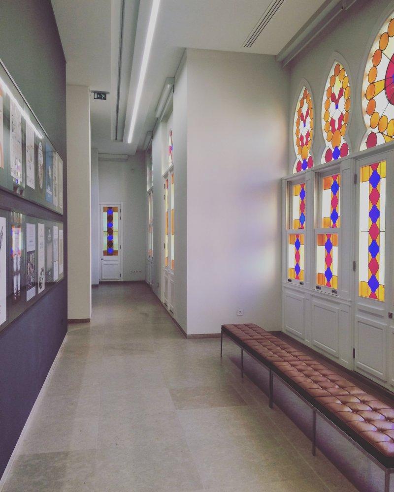 ممرات متحف سرسق العريق قاعات للفن