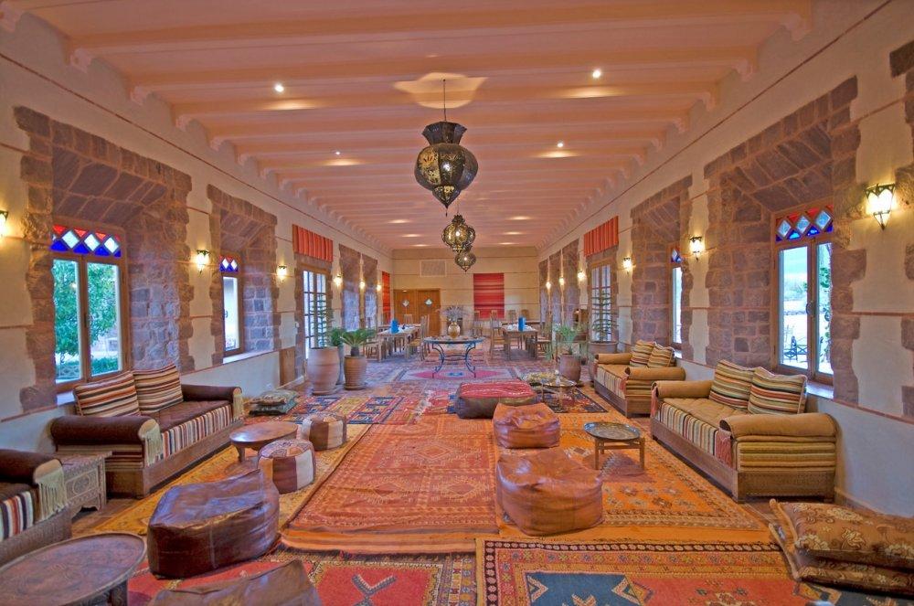 فندق Kasbah Angour، سلسلة جبال الأطلس – المغرب