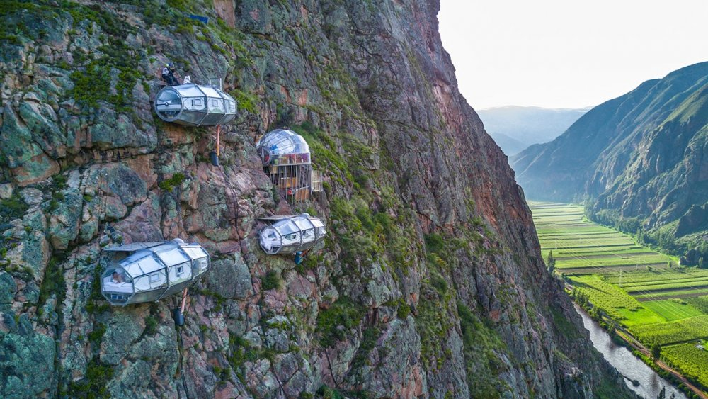 فندق Skylodge Adventure Suites، الوادي المقدس – بيرو