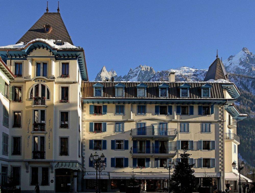 فندق Grand Hotel des Alpes، مون بلان – فرنسا
