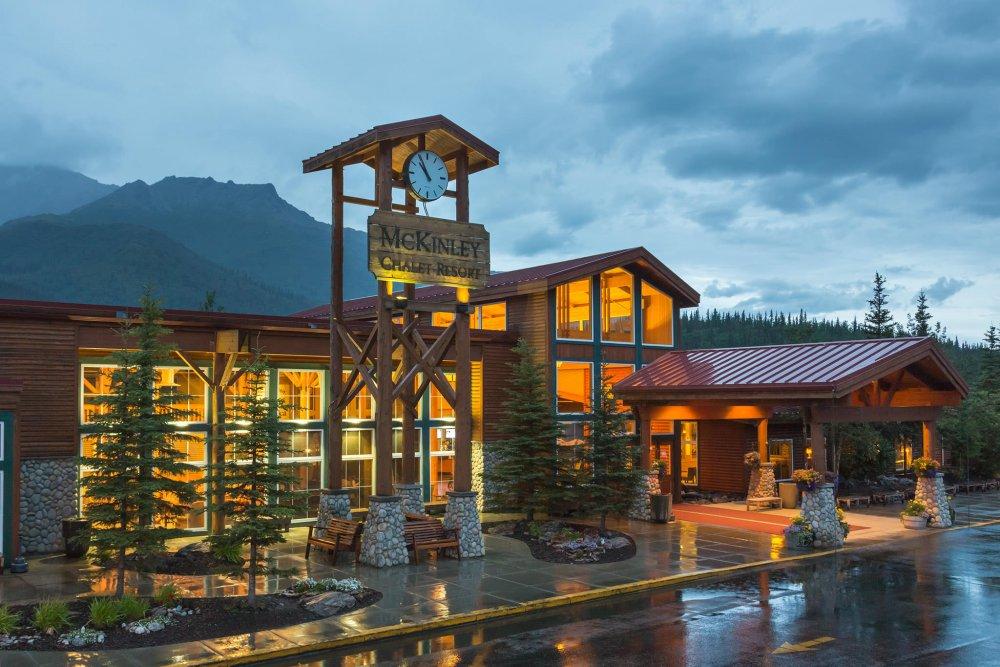 فندق ومنتجع McKinley Chalet Resort، منتزه دينالي الوطني – ألاسكا