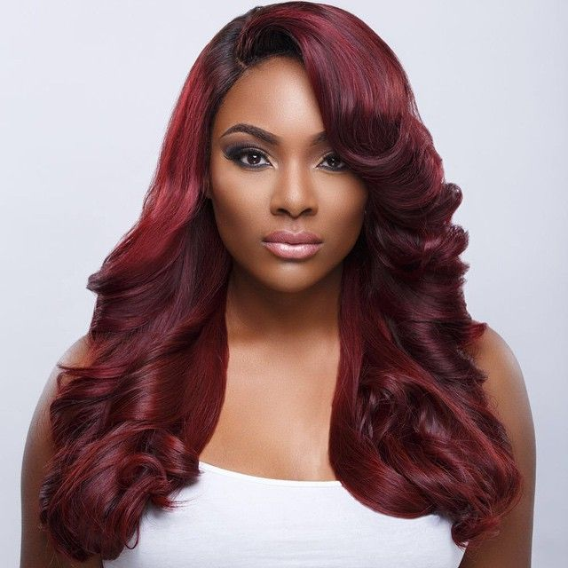 Red Hair Color For Dark Skin Find Your Perfect Hair Style