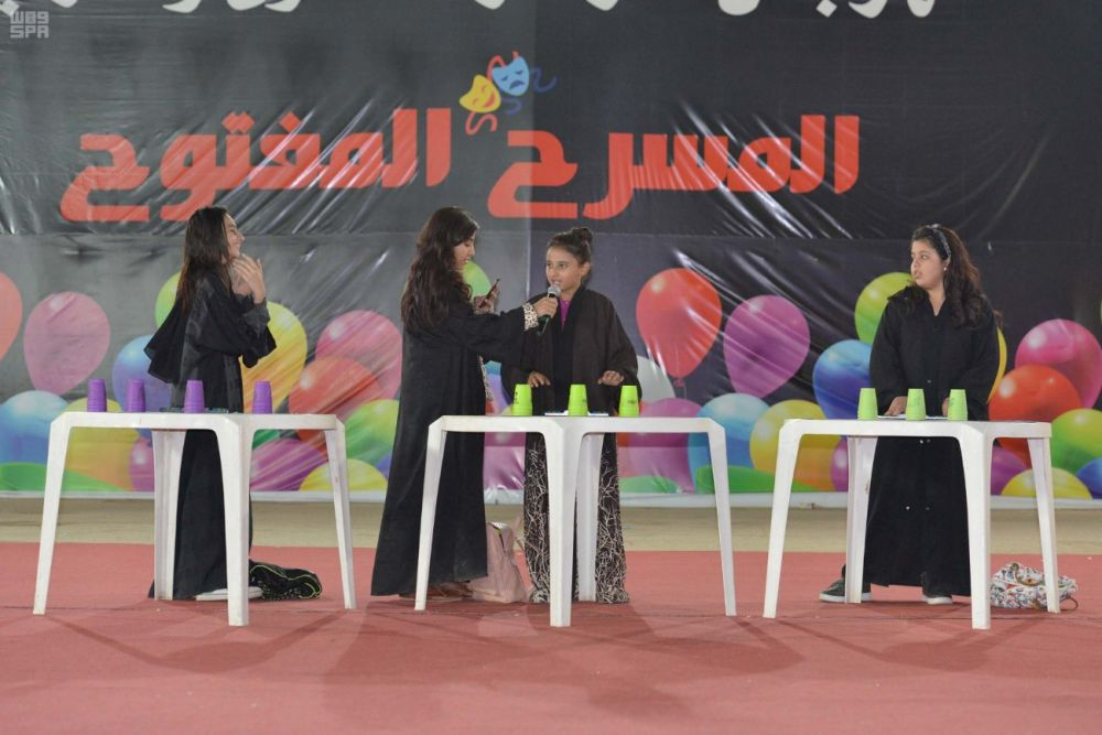 فعاليات متنوعة في مهرجان الشتاء الأول في عرعر
