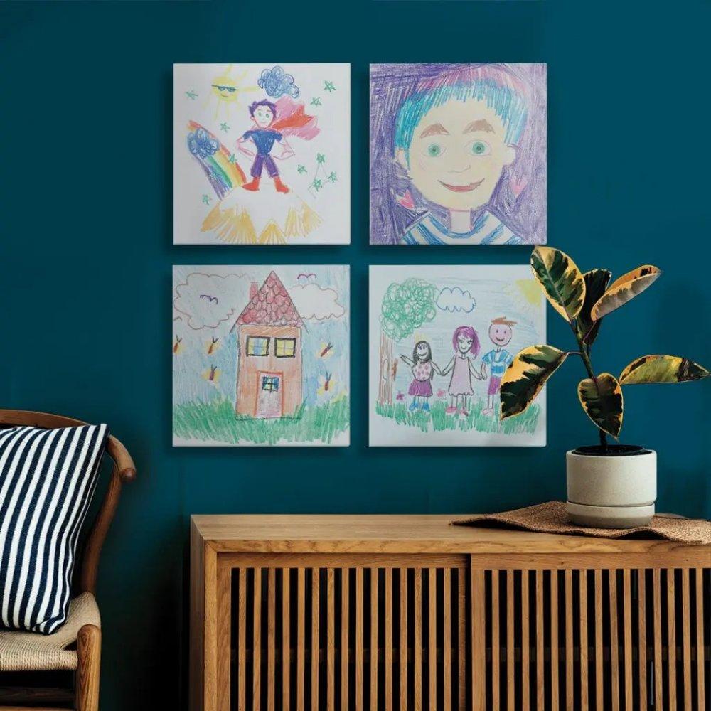 رسومات أطفالك على جدران المنزل أجمل هدية تقدم في عيد الأب