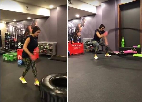 بالفيديو: ياسمين صبري تنافس عمرو دياب وقصي خولي بهذه الرياضة - مجلة هي