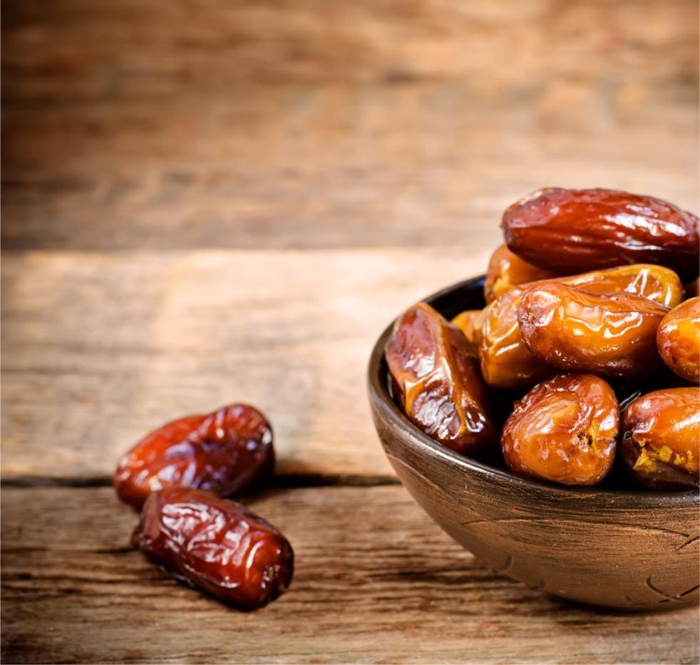 لا تبالغي في استهلاك التمر في رمضان