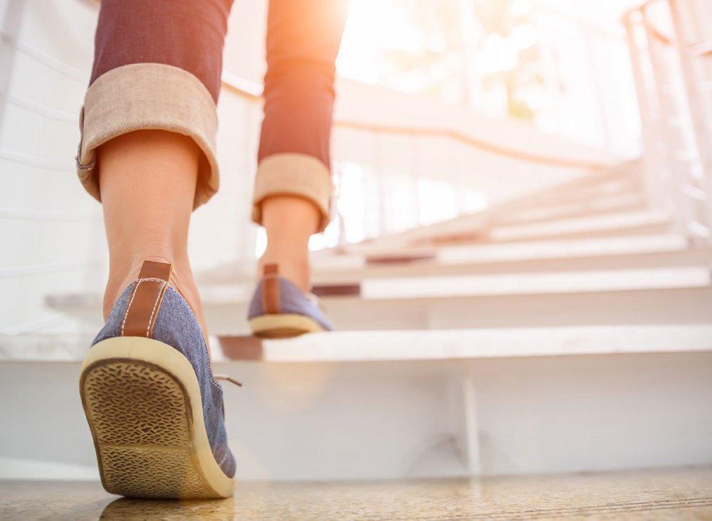القدرة على صعود السلالم دليل على انخفاض خطر الوفاة خلال عشر سنوات