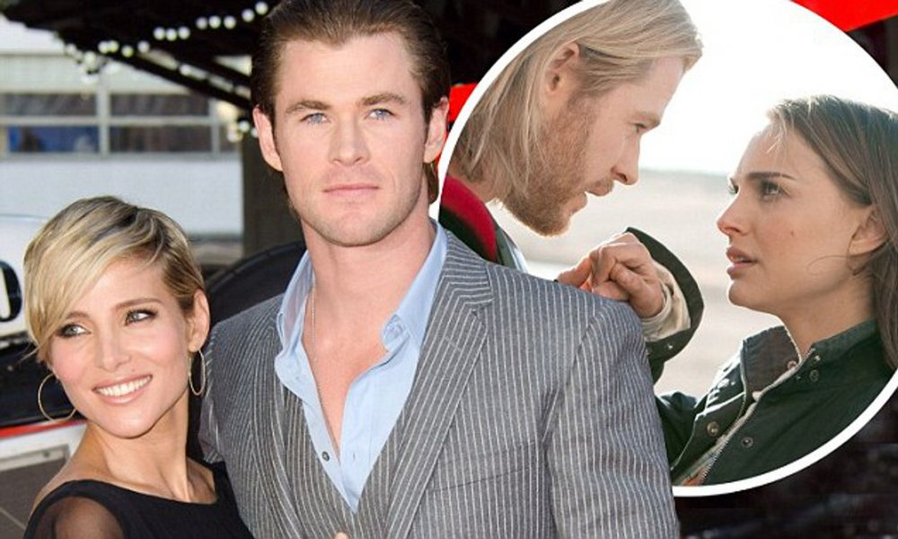 خلافات بين إلسا باتاكي Elsa Pataky وكريس هيمسوورث Chris Hemsworth بسبب ناتالي بورتمان