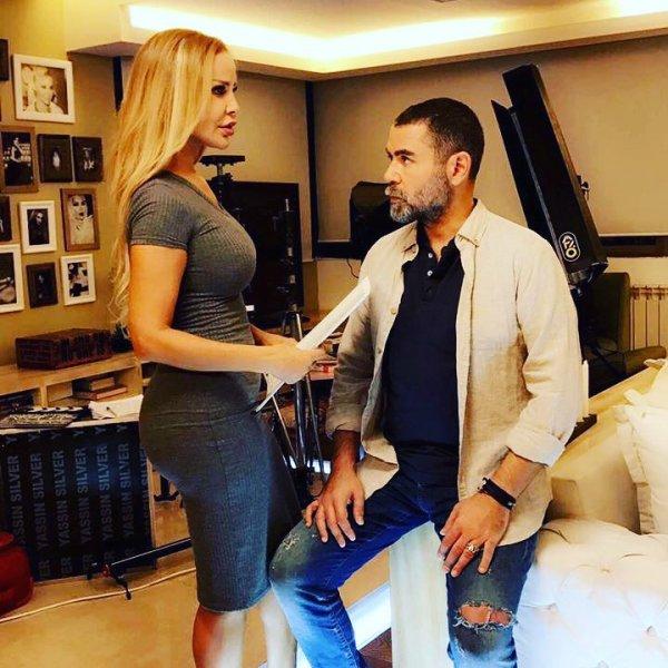 صور رومانسية لرولا سعد مع يوري مرقدي تشعل انستجرام والفنانة ترد بغضب - مجلة هي