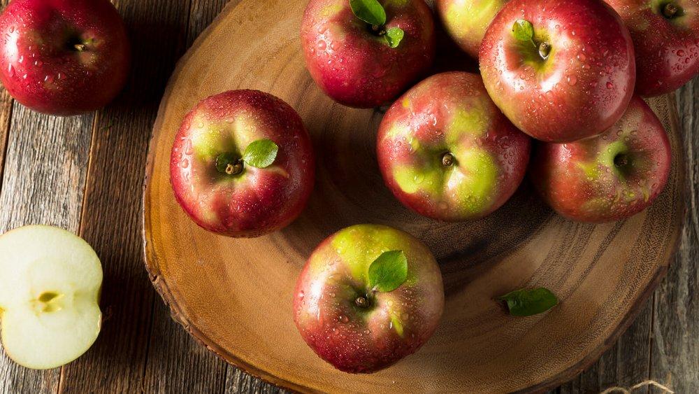 التفاح غني بالعناصر الضرورية لصحة الانسان
