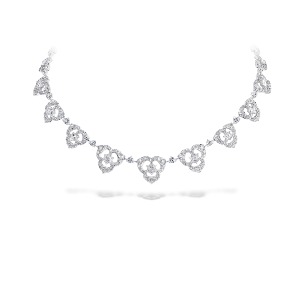petal collar necklace david morris