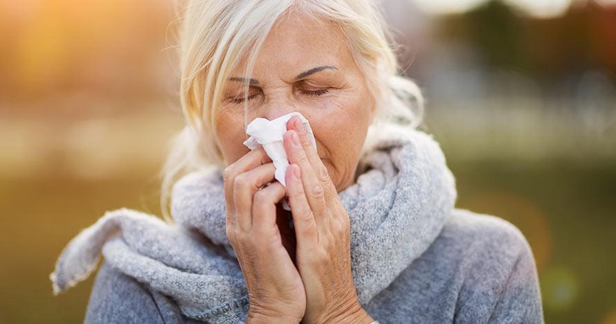 الانفلونزا الموسمية من الامراض الشائعة خلال فصل الشتاء