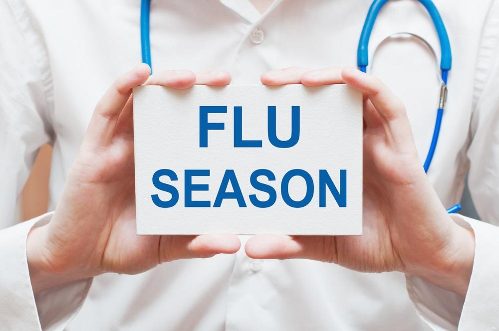 سجلت نسبة اقل لدخول المستشفى والعناية المشددة لمرضى الانفلونزا الموسمية