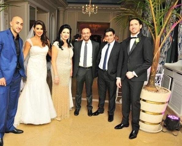 ياسمين صبري في زواجها الأول