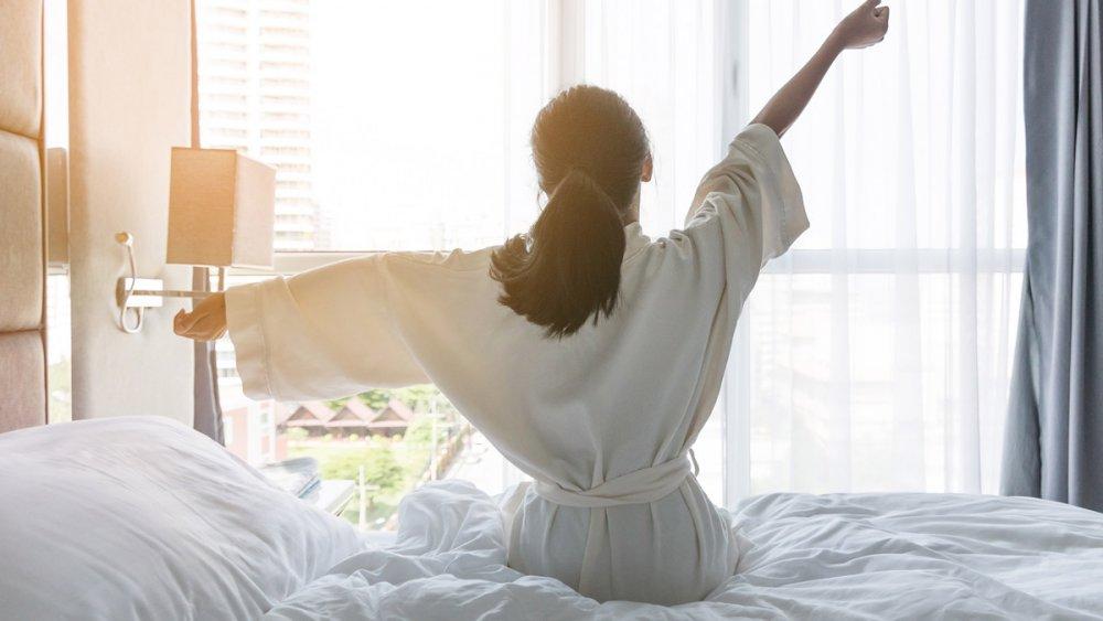 الحصول على القسط الكافي من النوم المريح و الهانئ لتنحيف الخصر