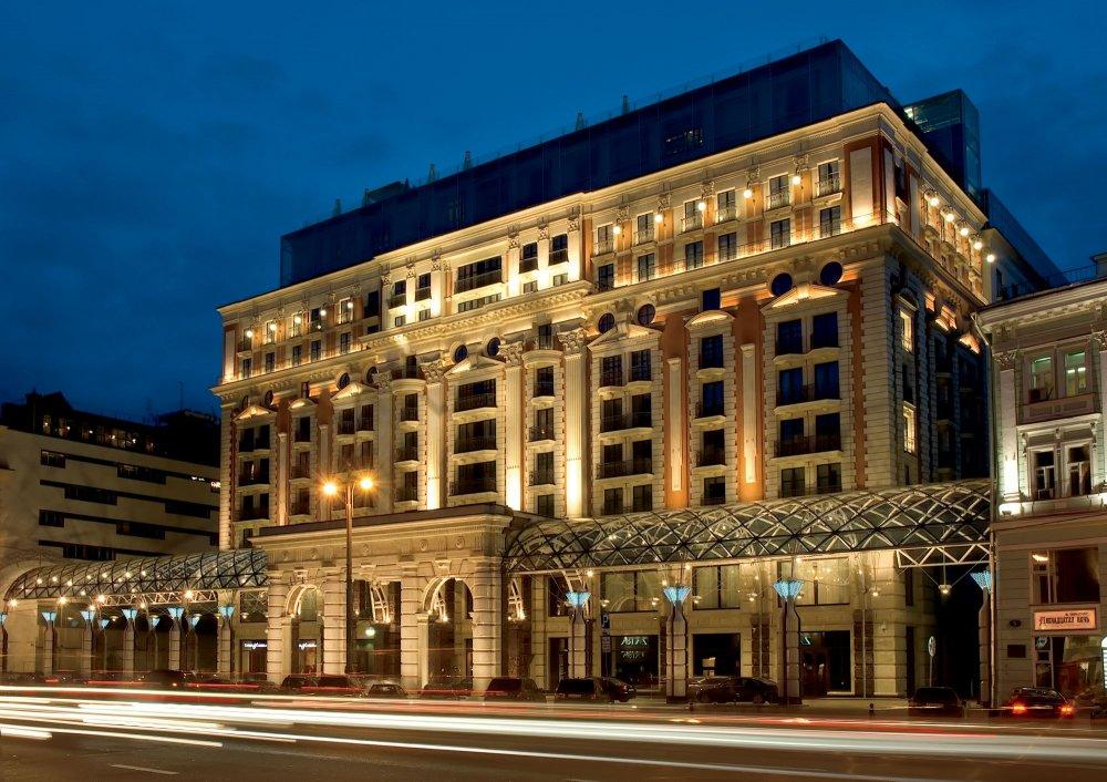 فندق ريتز كارلتون موسكو THE RITZ-CARLTON MOSCOW