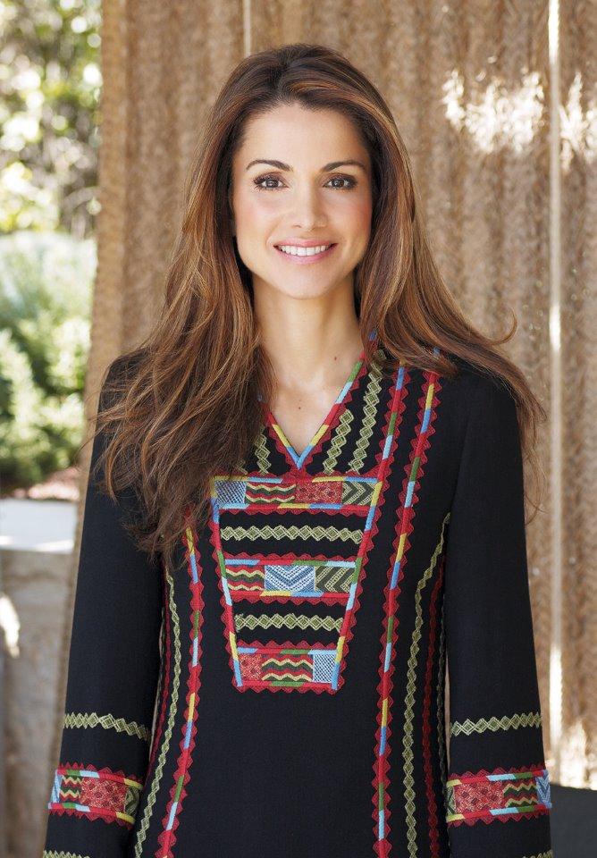 6e604aa400dc4 رسالة مصورة من الملكة رانيا في عيد الأم - مجلة هي