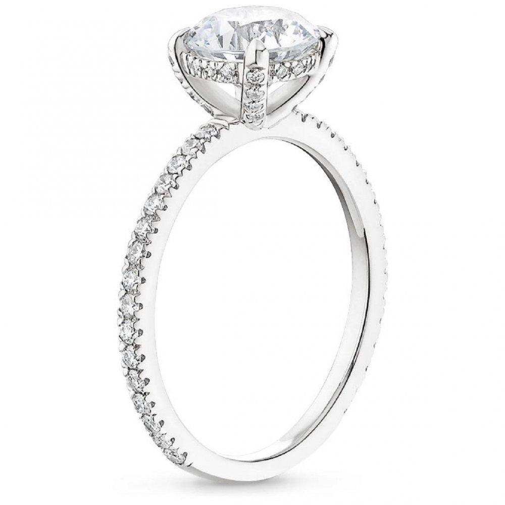 4769bd4e2 اشكال خواتم زواج الماس للعروس 2018 - مجلة هي